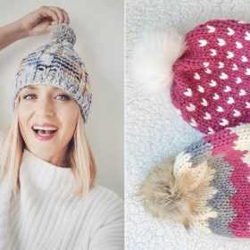 Easily Charmed Hats Free Knitting Patterns