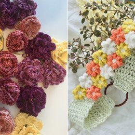 Flower Queen's Crown Free Crochet Patterns