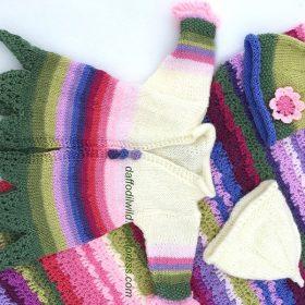 Little Fairy Jacket Free Knitting Patterns