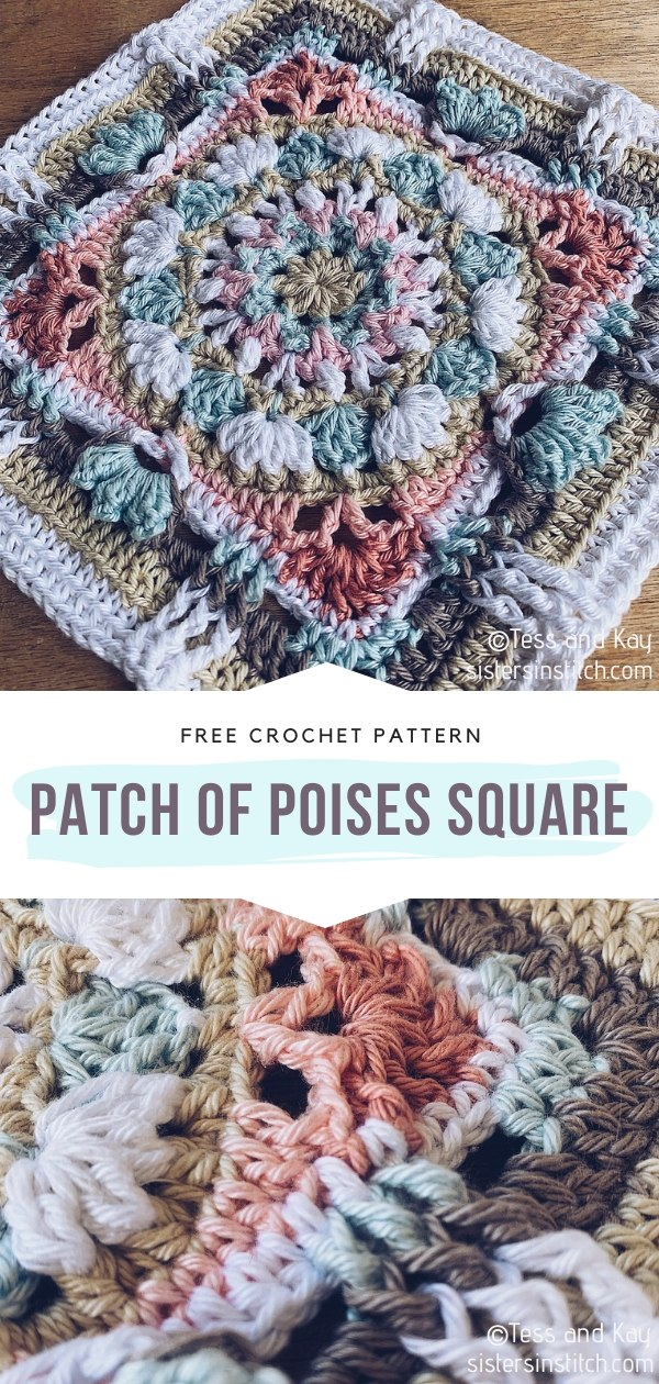 Patch Of Poises Crochet Square