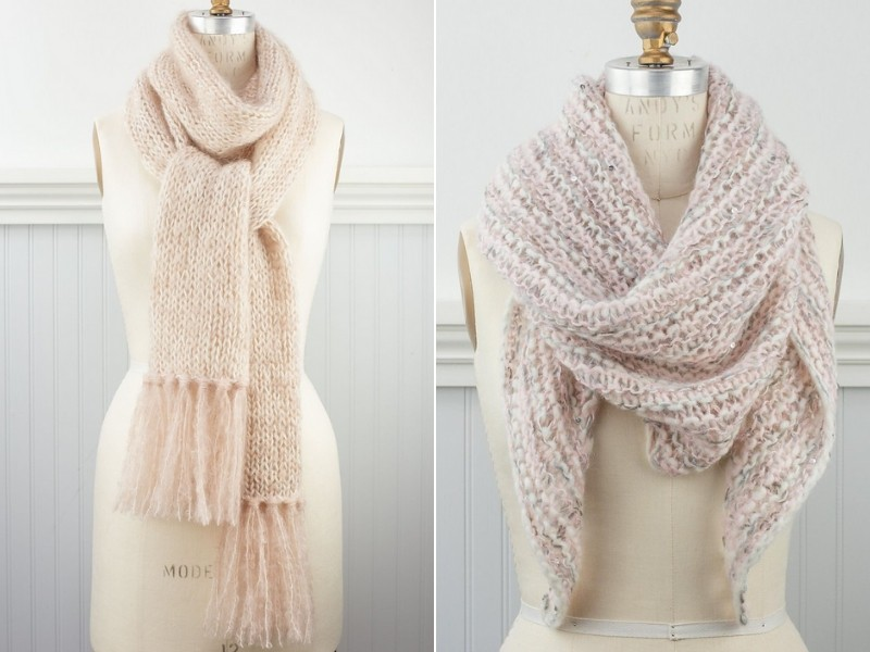Simply Romantic Scarves Free Knitting Patterns