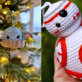 Star Wars Ornaments Free Crochet Patterns