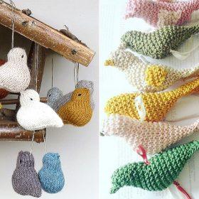 Sweet Little Birds Free Knitting Patterns