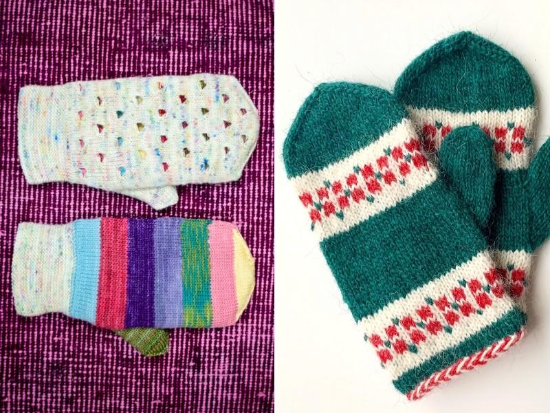Winter Charm Mittens Free Knitting Patterns