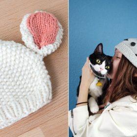 Sweet Animal Hats Free Knitting Patterns