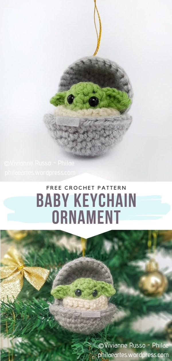 Baby Keychain Ornaments