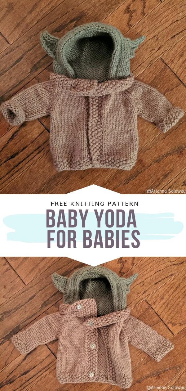 Baby Yoda for Babies Free Knitting Pattern