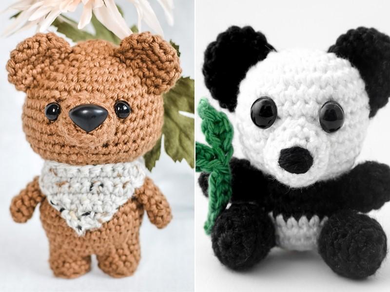 Beary Amigurumi Free Crochet Patterns