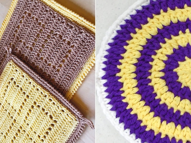 Cool Potholders Free Crochet Patterns
