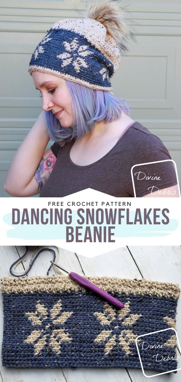 Snowflakes Beanie