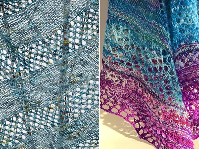 Enchanting Shawls Free Knitting Patterns
