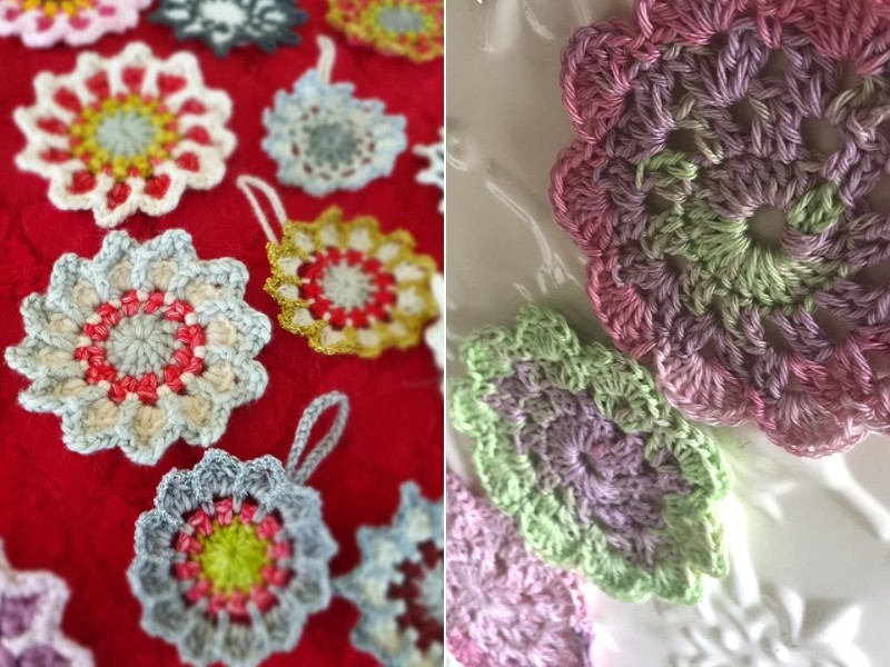 Floral Doilies Free Crochet Patterns