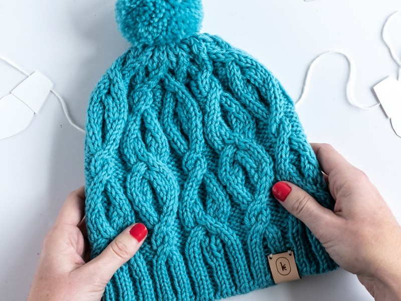 Interesting Cables Hats Free Knitting Patterns