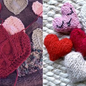 Little Hearts Free Knitting Patterns