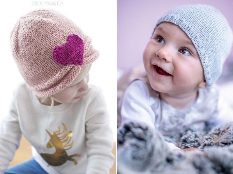 Lovely Knit Hats Free Patterns