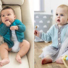 Lovely Little Cardigans Free Knitting Patterns