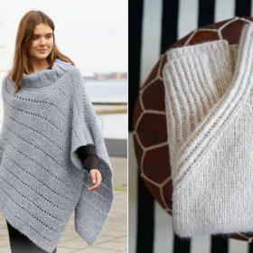 Minimalist Wraps Free Knitting Patterns