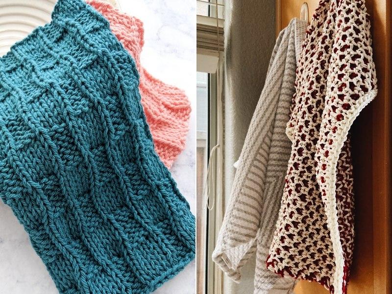 Perfect Kitchen Cloths Free Knitting Patterns