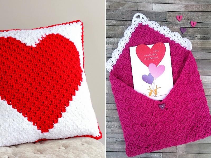 C2C Valentine`s Ideas Free Crochet Patterns