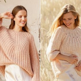Sunny Pullovers Free Knitting Patterns