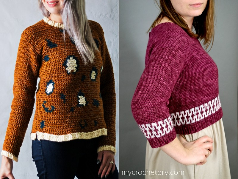 Trendy Pullovers Free Crochet Patterns