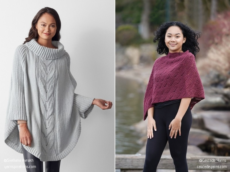 Spiced Up Simplicity Ponchos