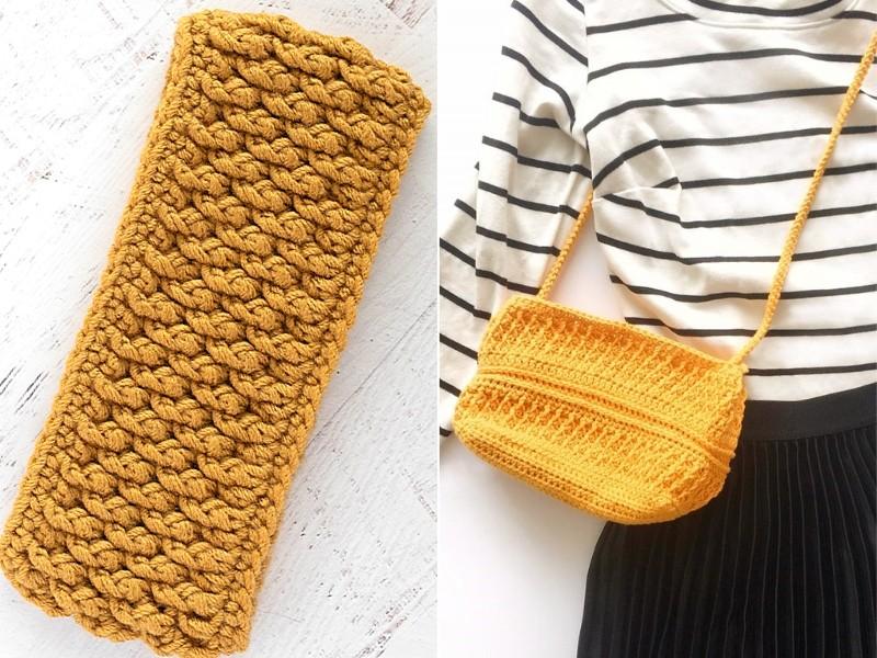 Alpine Stitch Accessories Free Crochet Patterns