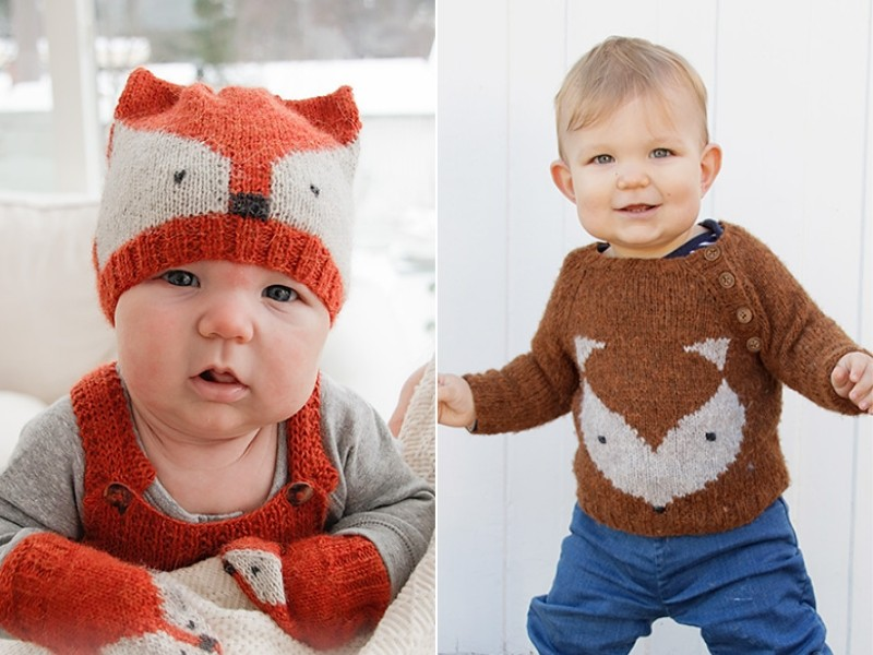 Baby Fox Knit Free Patterns