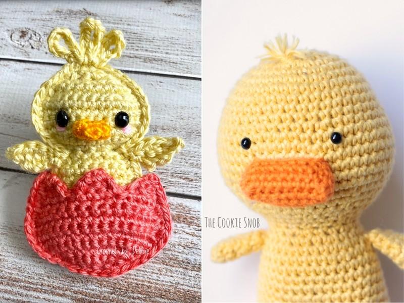 Chick or Duck Amigurumi Free Crochet Pattern