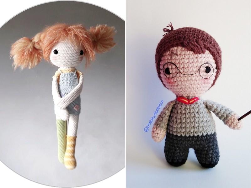 Childhood Friends Amigurumi Free Crochet Patterns