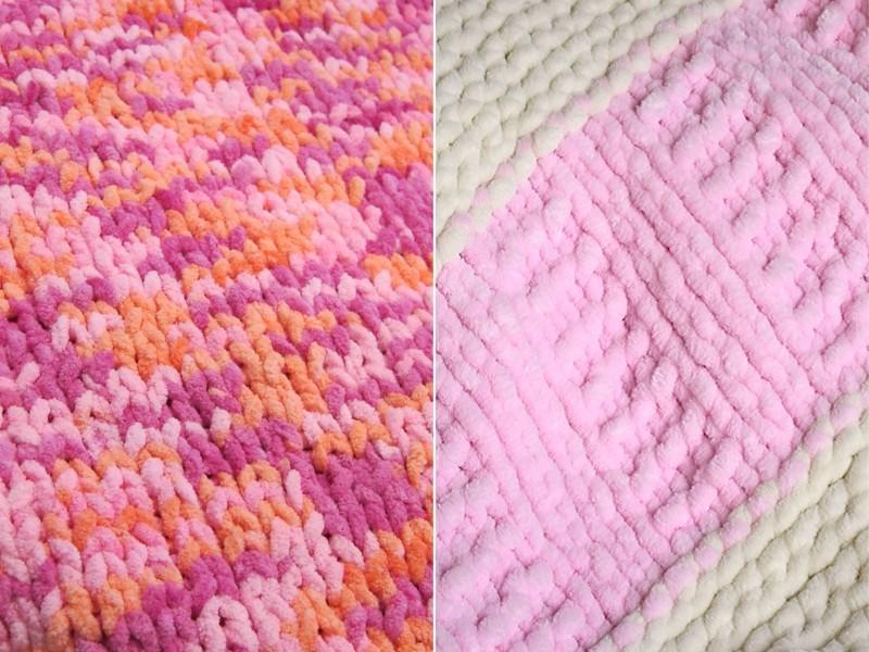 Chunky Blankies Free Knitting Patterns