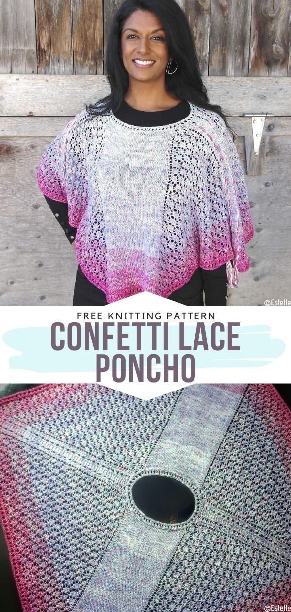 Lace Poncho
