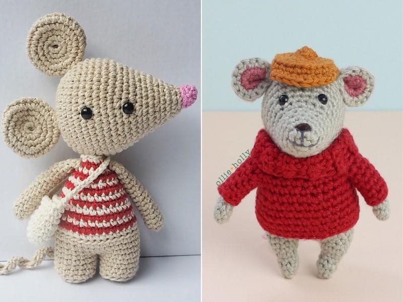 Sweet Ami Mice Free Crochet Patterns