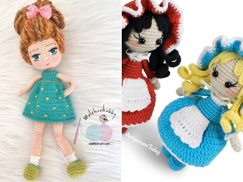 Sweet Dolls Free Crochet Patterns