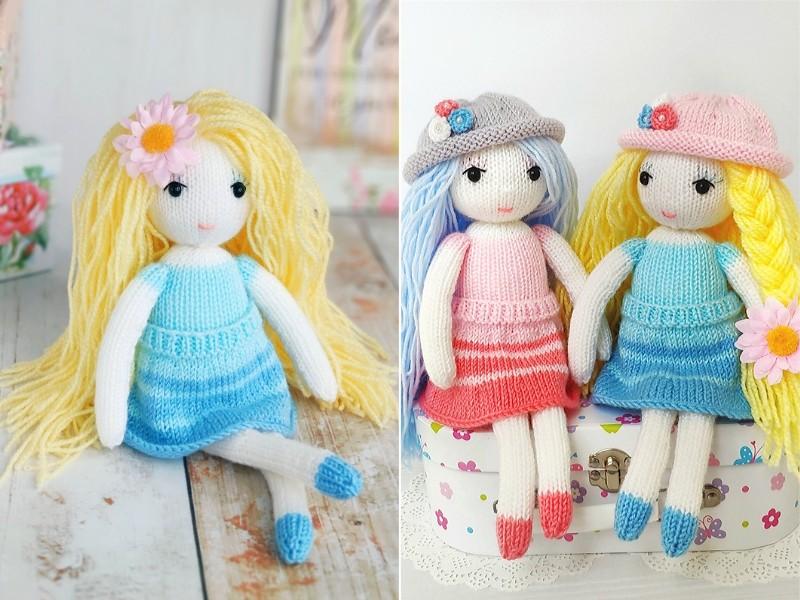 Fancy Knit Dolls Free Patterns