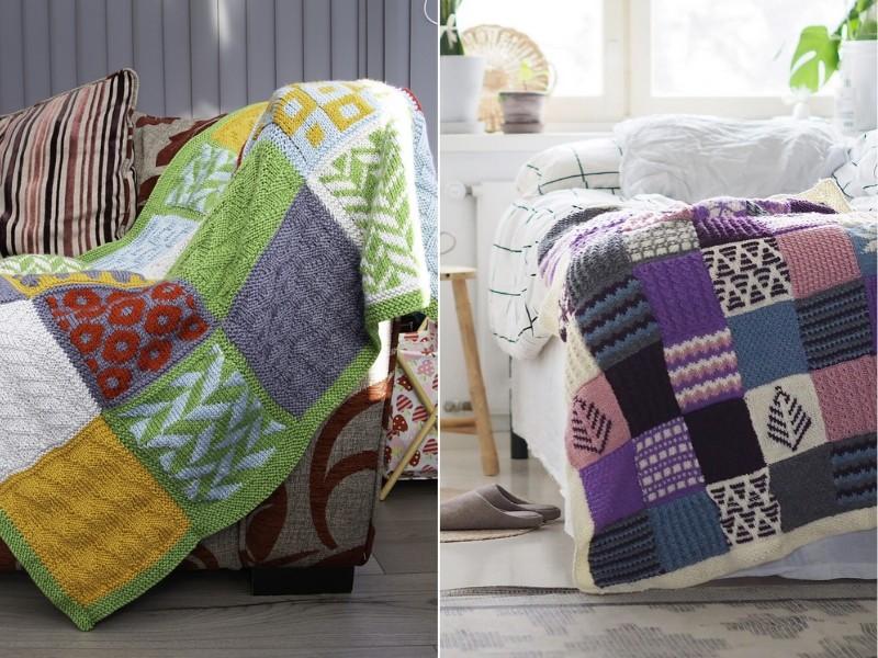 February KAL Blankets Free Knitting Patterns