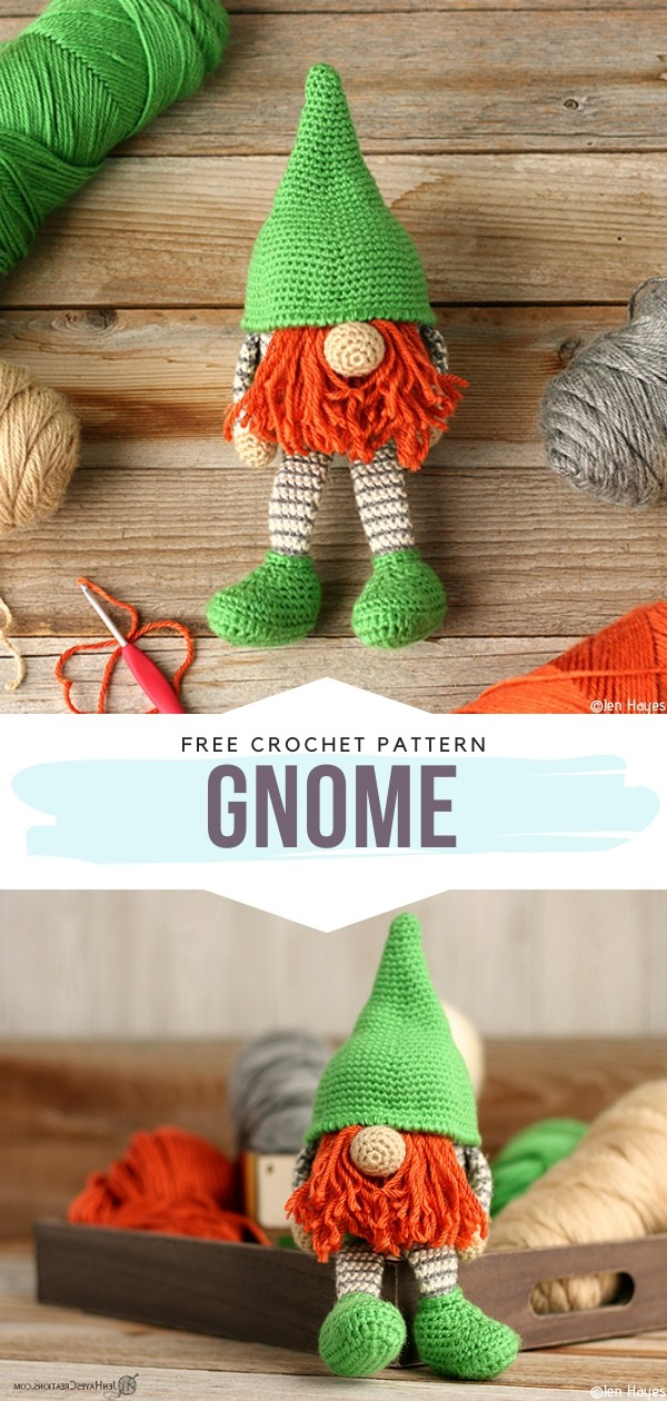 Gnome Free Crochet Patterns