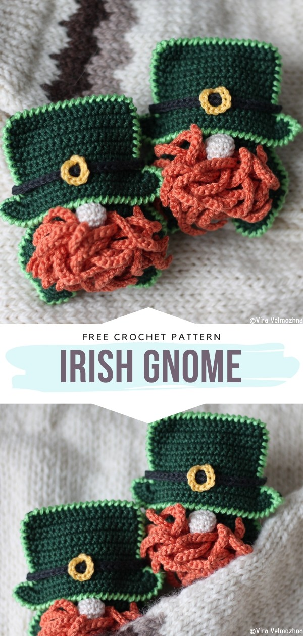 Irish gnome Free Crochet Patterns