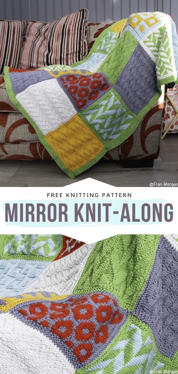 Mirror KnAit-Along Free Knitting Pattern