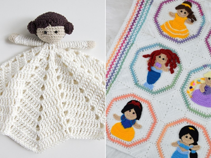 Princess Blankets Free Crochet Patterns