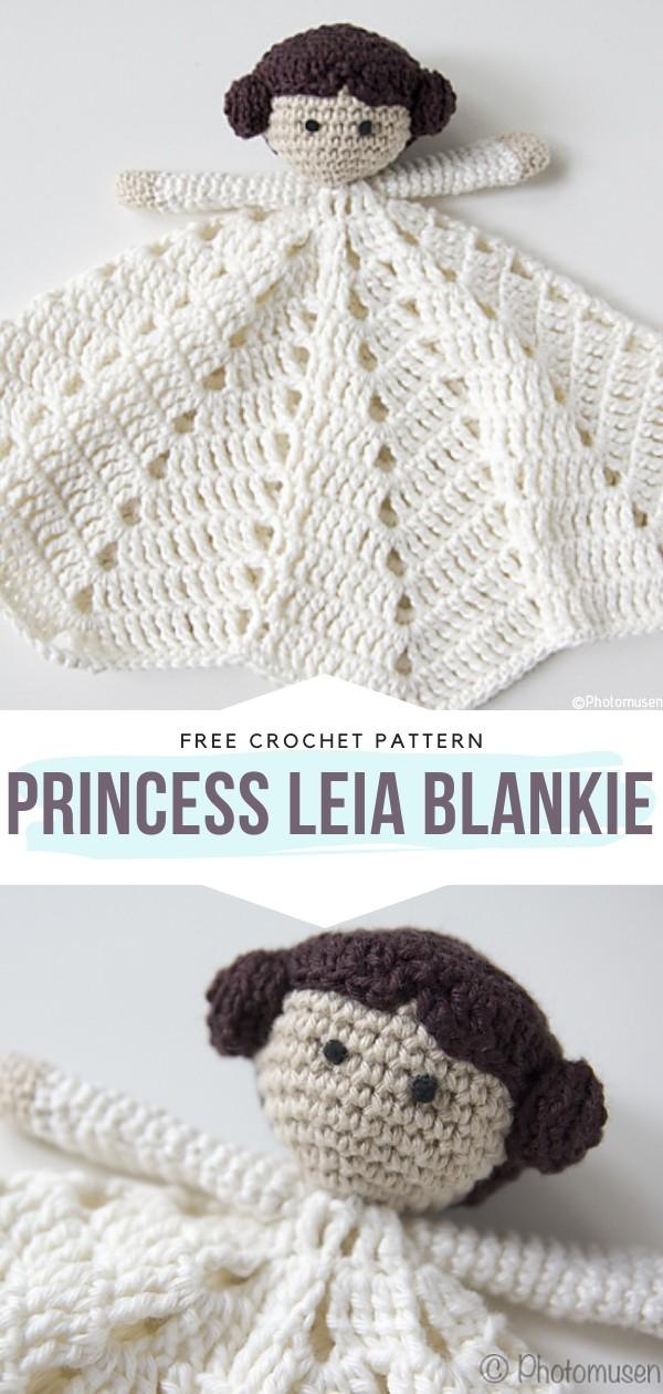 Princess Leia Blankie Free Crochet Patterns