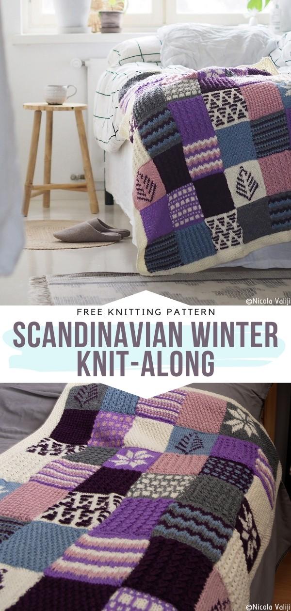Scandinavian Winter Knit-Along Free Knitting Pattern