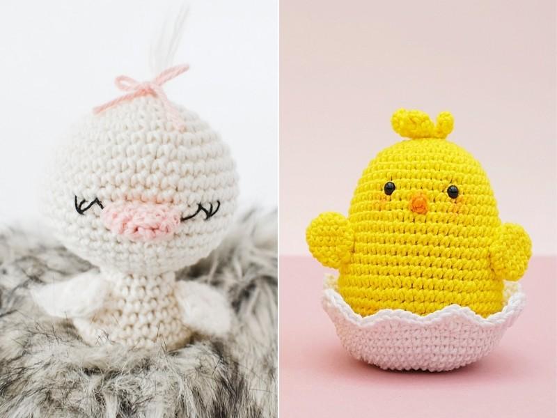 Sweet Ducklings Free Crochet Patterns