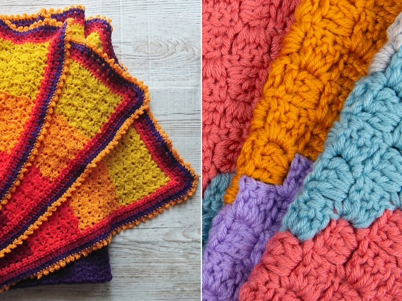 Tropical Blankets Free Crochet Patterns