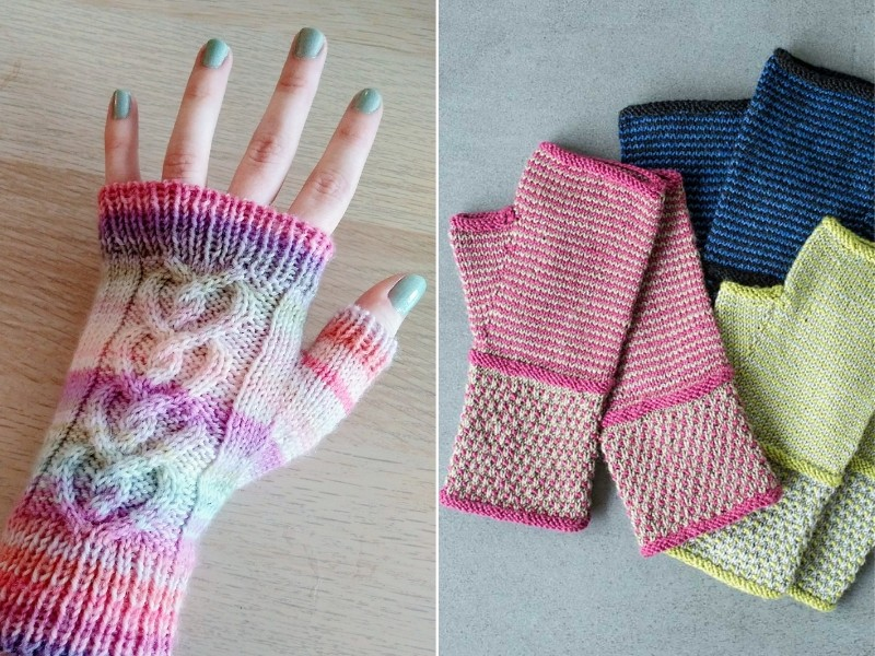Youthful Mittens Free Crochet Patterns