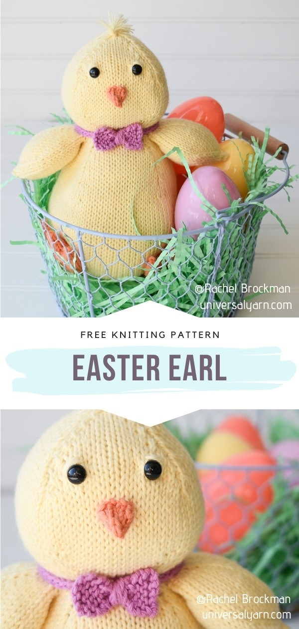Easter Knit Chick