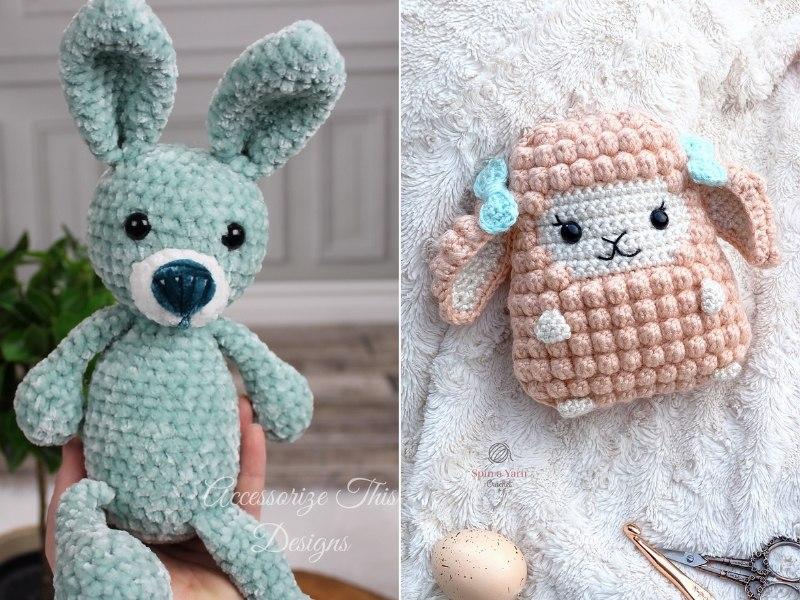 Amigurumi Easter Menagerie Free Crochet Patterns