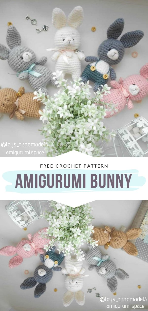 Amigurumi bunny Free Crochet Pattern