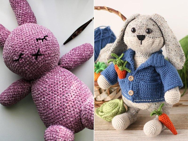 Bunny Friends Free Crochet Patterns