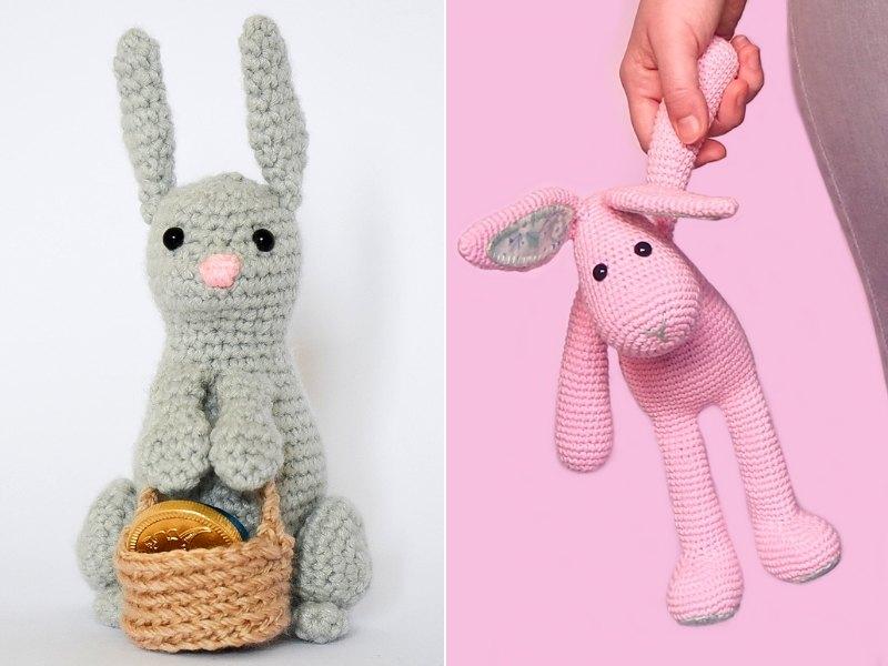 Charming Bunnies Free Crochet Patterns